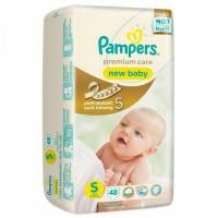 Jual Pampers Premium Care S48 (newborn) / Pampers Premium Care Size S Murah