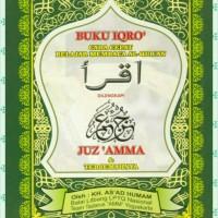 Buku Iqro plus juz amma terjemah besar kertas HVS / kitab bacaan anak