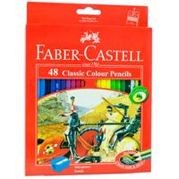 Pensil Warna Faber Castell 48 Classic / Free Rautan