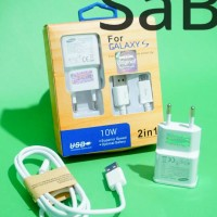 CHARGER SAMSUNG ORIGINAL/ 2AMP/FOR GALAXY S2/S3/S4/S5/GRAND