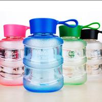 #151 Botol Unik Bentuk Mini GALON AQUA (BPA Free) 460ML Limited