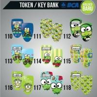 Garskin Token Bank BCA, MANDIRI, BNI