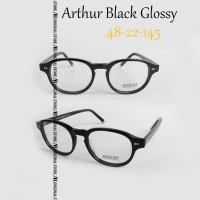 Kacamata Baca Mos*Cot Lemtosh Arthur Black Glossy Frame Minus Plus