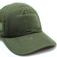 Topi Tactical Hijau With Velcro