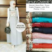 Jual Baju Dress Wanita Tenun Overall 9 Murah