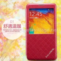 Kalaideng Dress Flipcase For Samsung Galaxy Note3-Red