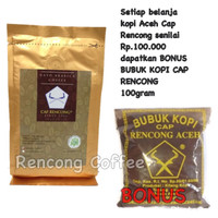 Jual KOPI ARABIKA ACEH GAYO BUBUK GROUND COFFEE SPECIALTY 100gr RC Murah