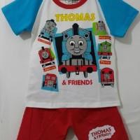 Setelan Anak Size 7-10 Thomas | Kaos Karakter Anak Laki Laki Murah Big