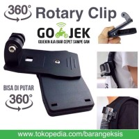 Action Cam Rotary Clip 360 Mount For GoPro, Xiaomi Yi & Brica AE / AP