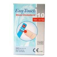 Strip Kolesterol Easy Touch EasyTouch isi 10 original