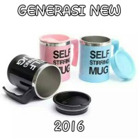 self stirring mug .gelas pengaduk sendiri