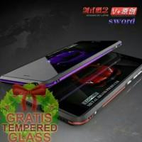 Jual Bumper Case Xiaomi Mi5s Luphie Sword Series Alumunium Metal DualColors Murah