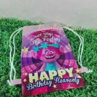 Tas Ultah/Backpack/Ransel/Souvenir/Goodie bag TROLLS Paul Frank MONKEY