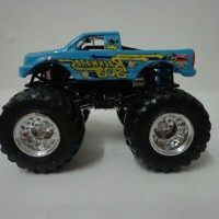 hot wheels monster jam backward bob loose