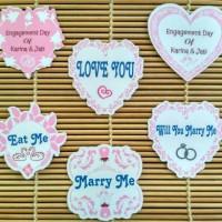Engagement Topper Cupcake, Happy Anniversary , wedding