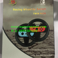 Twin Pack Joy-Con Controller Steering Racing Wheel for Nintendo Switch