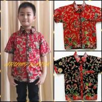 Kemeja / Hem / Atasan / Baju / Anak Laki Laki Batik 1035