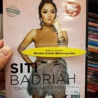 VCD SITI BADRIAH - CINTA TAK HARUS MEMILIKI