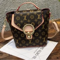 Tas Import Ransel Selempang Backpack Cream Murah Elegan Fashion