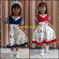 Dress / Dres / Terusan / Baju Batik Anak Perempuan 1165