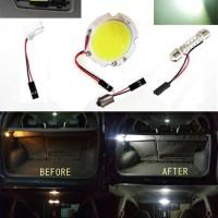 LAMPU LED PLAFON KABIN COB MODEL Plasma Tipis Ukuran BULAT