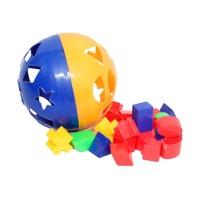 Mainan Edukatif / Edukasi Anak - Puzzle Ball Bola Pintar Bentuk Warna