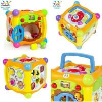Mainan Bayi Magic Cube Box - Mainan Edukasi