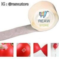 Lem Balon / Perekat Balon / Glue Dot Balloon / Tempelan Balon