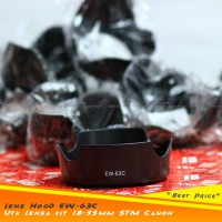 *New* Lens Hood Flower Ukuran 58mm utk Canon 18-55mm STM