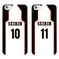 Seirin Jersey (Black) Kuroko No Basket Phone Case