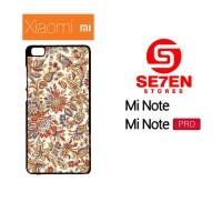 Casing HP Xiaomi Mi Note, Mi Note Pro batik 3 Custom Hardcase Cover