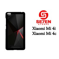 Casing HP Xiaomi Mi4i, Mi4c black iphone 6 Custom Hardcase Cover