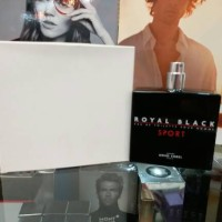 Original Parfum Arno Sorel Royal Black Sport Tester for men