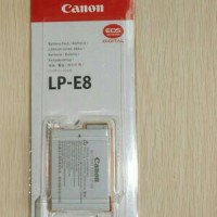 baterai / battray kamera dslr canon LP-E8 550D/600D/650D/700D