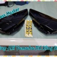 Tutup Aki Yamaha RX King New + Logo Stiker