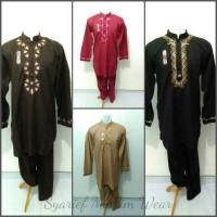 Setelan Baju Koko Pakistan Jumbo/Big Size - Sollu (High Quality)