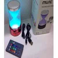 Hourglass Bluetooth Portable Speaker With LED Lamp 1