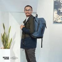 Tas Murah Backpack Laptop Visval RIVERS Midnight