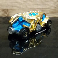 DIECAST HOT WHEELS DOUBLE DEMON GOLD HW CITY - LOOSE
