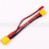 XT60 Male To XT60 Female & JST Female Conversion Cable