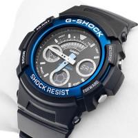 Casio G-Shock Analog & Digital AW-591-2ADR World Time Watch