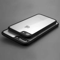 Jual Silicon Hardcase iPhone 5/6/6+/7/7+ TPU Fuze Transparan Soft Bumper Murah