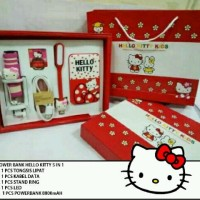 Jual Powerbank Hello Kitty 5in1 Murah