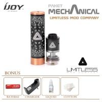 Jual Paket Limitless Mod Company/RDTA Mechanical Vape Kit/ Rokok Elektrik Murah
