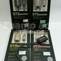Otg Cable / Kabel Transform Log On Type C Plug (Metal Head) Original