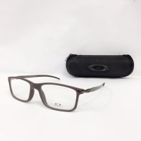 Obral Frame Kacamata Minus Oakley Tincan MD Pria Coklat Murah