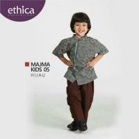 Baju Muslim Koko Anak Ethica MAJMA KIDS 05 HIJAU