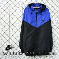 Jaket Parasut Nike Biru Hitam Murah Meriah 2521b28ede