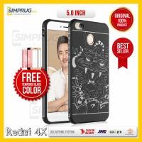 Jual PAKET Original Cocose Dragon Case Xiaomi Redmi 4X Redmi4X Soft Rubber Murah