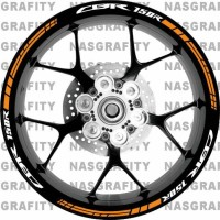 Sticker Velg Racing Honda Cbr 150r